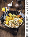 squid potato pan 17265504