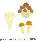 蟹味菇 取名 褐色榉木香菇 17274097