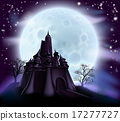 Halloween Castle Background 17277727