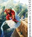猴子 峽谷 飛翔 17278143