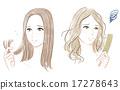 发 头发 夫人 17278643