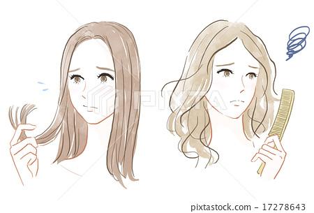 煩惱 護髮 髮型 17278643