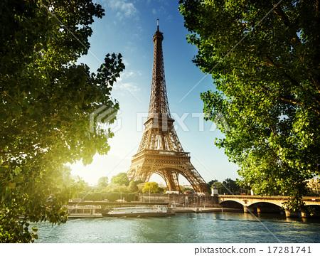Eiffel tower, Paris. France 17281741
