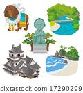 kochi, prefecture, vector 17290299