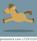 Horses Cartoon 17291520