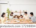 早餐 爸爸 三代人 17298894