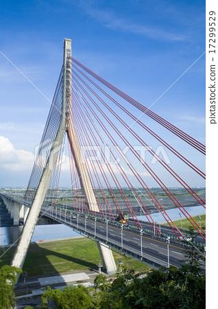 台灣高雄斜張橋 17299529