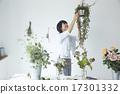 亞洲人 亞洲 插花藝術 17301332