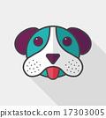 개, 강아지, 평평 17303005