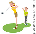 高爾夫球手 異性夫婦 情侶 17320904
