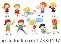 set studying children 17330497