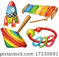 wooden, toys, set 17330691