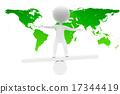 世界地圖 平衡 插畫 17344419