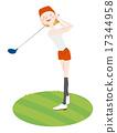 golf, women, woman 17344958