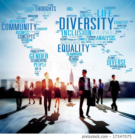 Diversity Community Population Business People Concept 17347075