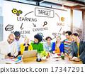 Target Aspiration Goal Achievement Vision Concept 17347291
