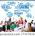 Saving Insurance Plans Ideas Finance Growth Analysis Concept 17347826