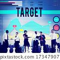 Target Aspiration Goal Achievement Vision Concept 17347907