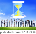 Time Sand Glass Hour Glass Finance Saving Concept 17347934