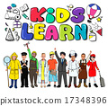 Kids Learn Education Creativity Children Ideas Concept 17348396