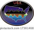 ทะเลทรายอเมริกาและตึกระฟ้า 17361468