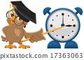 นาฬิกาปลุก,นกฮูก,การสอน 17363063