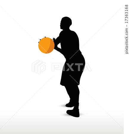 basketball player 17363168