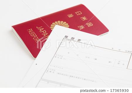Resume and passport 17365930
