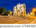Siegestor Victory Arch Munich Germany 17366480