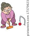 senior citizen, grandmother, aged 17370623