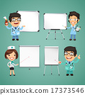 Doctors With Whiteboard Set 17373546