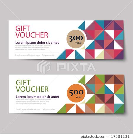 gift voucher discount template design Illustration – Voucher Design