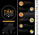thai food menu 17381140