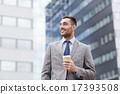 coffee, cup, businessman 17393508
