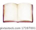 골동품 책 양면 17397001
