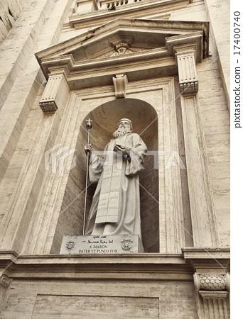 Statue of Saint Maroun, Saint Peter's Basilica 17400740