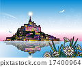 Mont Saint Michel Flower 17400964