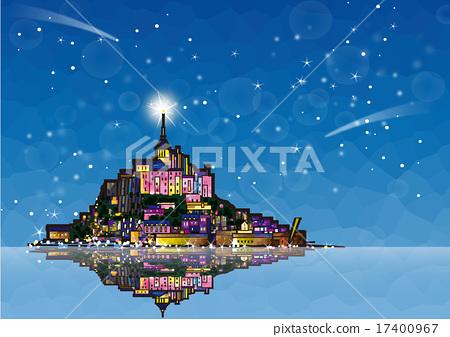 Mont Saint Michel stars 17400967