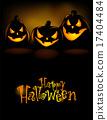 Laughing Halloween lanterns 17404484