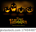 Laughing Halloween lanterns 17404487