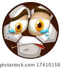 哭 向量 向量圖 17410156