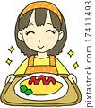 大米煎蛋 蛋包饭 女性 17411493