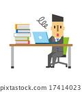 有很多工作的商人[平人類·系列] 17414023