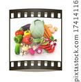 原料 茄子 蔬菜 17414116