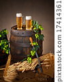 beer with raw material for beer production 17414361