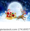 Santa Sleigh Header 17416957