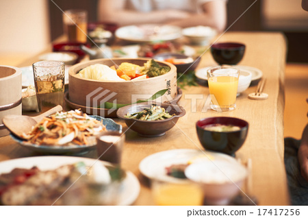 食物搭配 用餐 吃 17417256