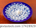 河豚 河豚魚生魚片 河豚魚 17428929