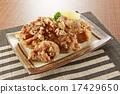 油炸的 油炸食品 菜單 17429650