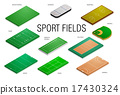 sport fields and courts 17430324